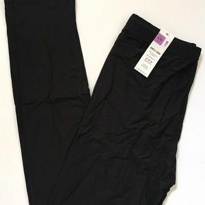 Solid black leggings Small NWT